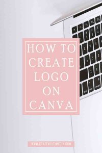HOW TO CREATE LOGO ON CANVA