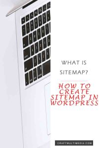 HOW TO CREATE SITEMAP IN WORDPRESS