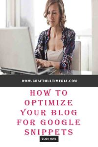 HOW TO OPTIMIZE YOUR BLOG FOR GOOGLE SNIPPET