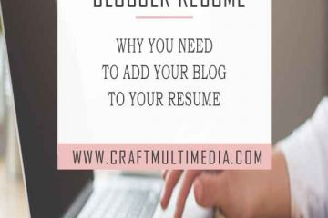 blogger resume why you need to add your blog to your resume