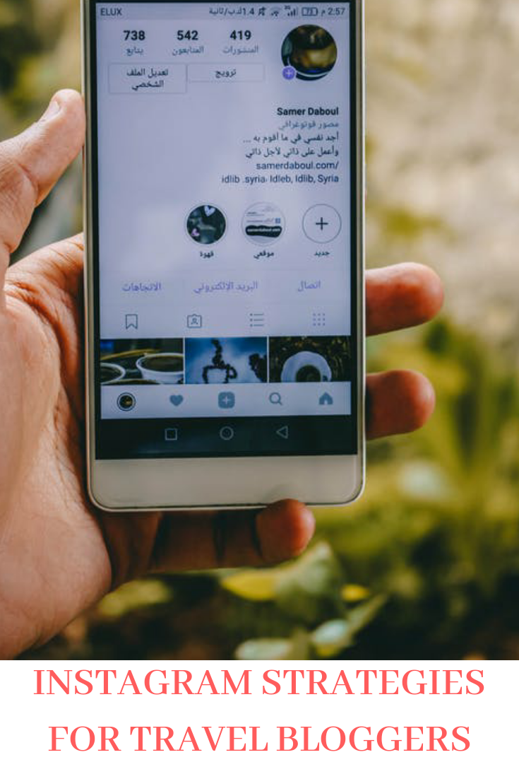 Instagram Strategies For Travel Bloggers