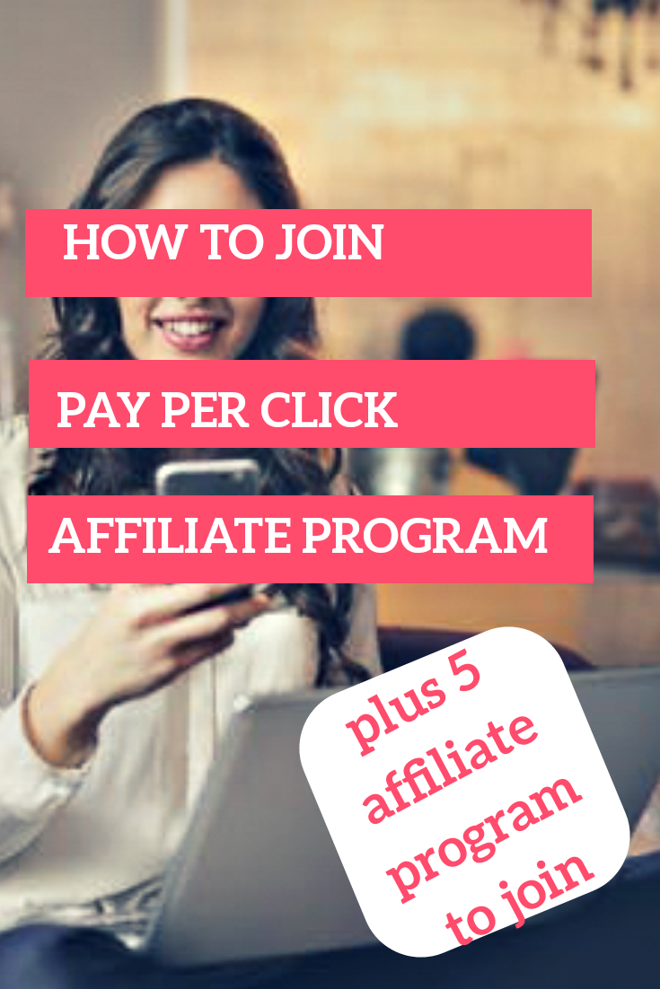 how to join pay per click affiliate program