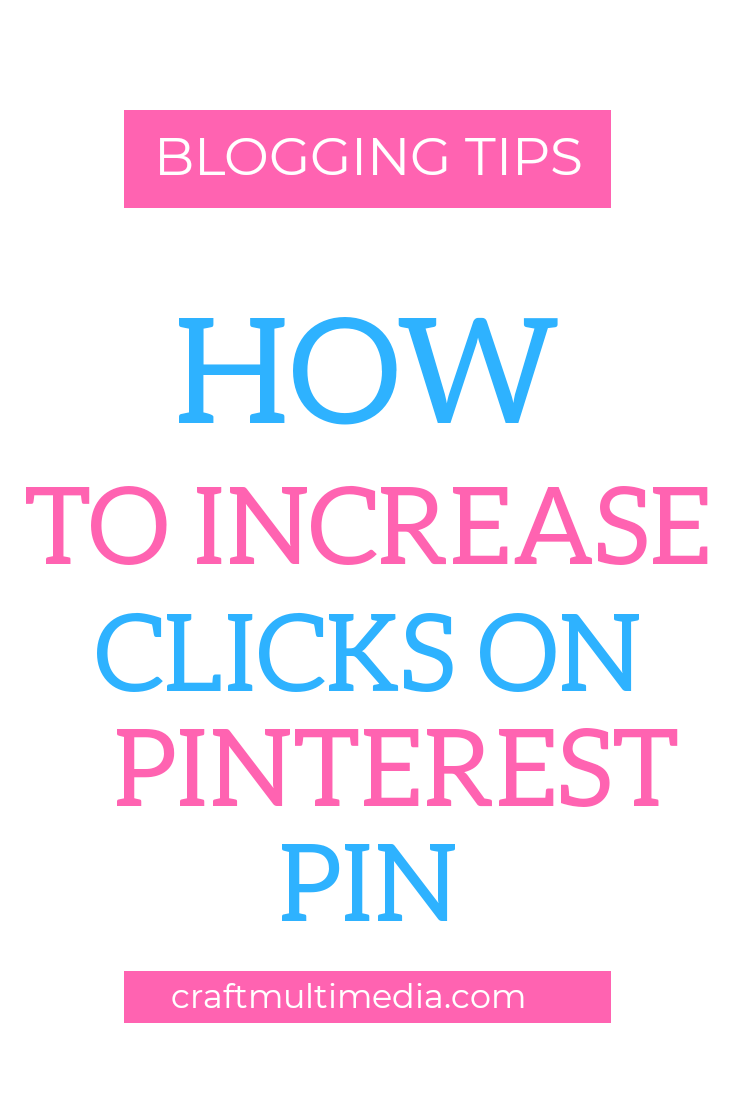 how to increase clicks on pinterest pin