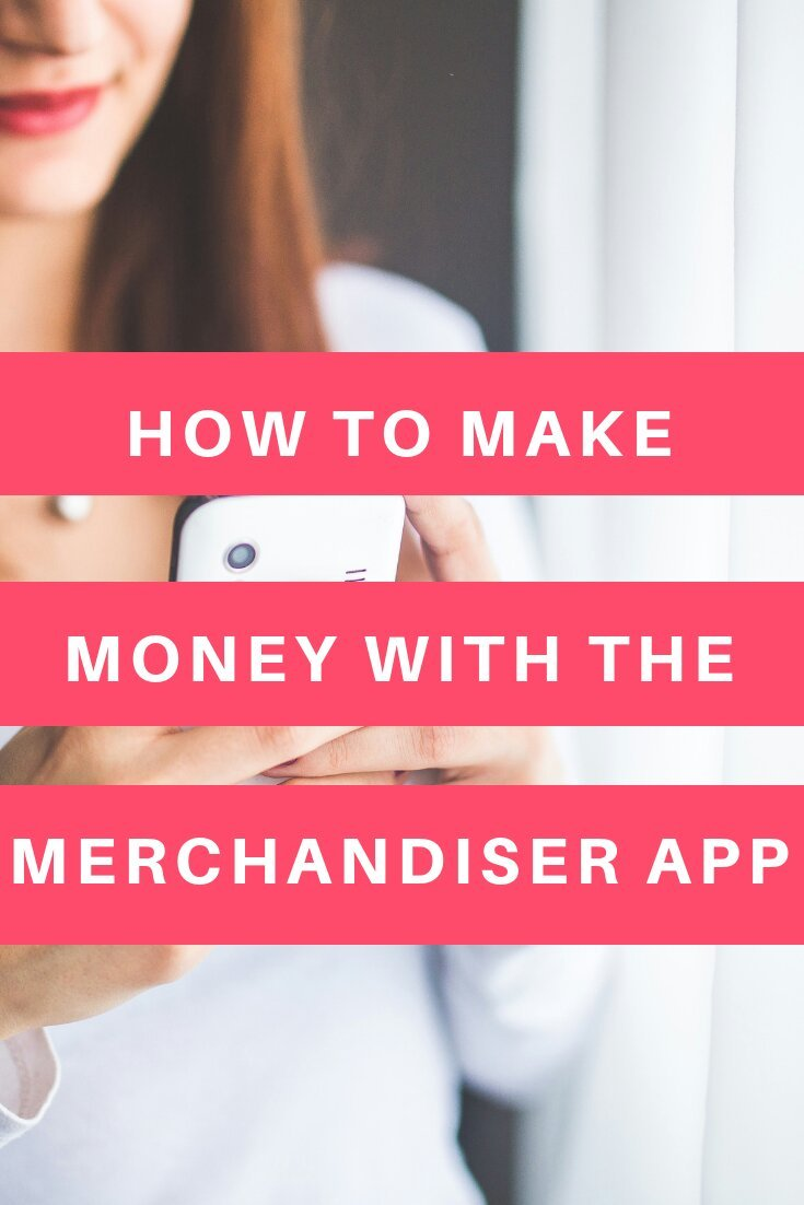 How to make money with the merchandiser app